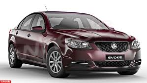 E B Tolley - Holden Commodore Sedan VF Evoke 2013 – on